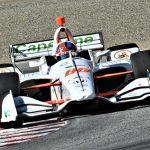 Colton Herta was fastest during NTT IndyCar Series testing on Thursday at WeatherTech Raceway Laguna Seca. (Al Steinberg Photo)