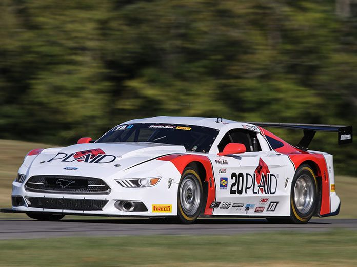 Chris Dyson on his way to the pole in Trans-Am Series qualifying Friday at Virginia Int'l Raceway.