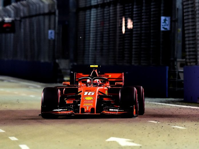 Leclerc Storms To Third