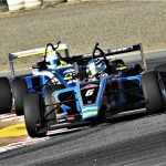 Christian Rasmussen won Saturday's USF2000 race at WeatherTech Raceway Laguna Seca. (Al Steinberg photo)