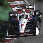 Hitachi will continue to sponsor Josef Newgarden and Team Penske in 2020. (IndyCar Photo)