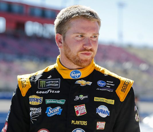 Chris Buescher will join Roush-Fenway Racing for the 2020 NASCAR Cup Series season, replacing Ricky Stenhouse Jr. (HHP/Barry Cantrell)