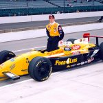 Richie Hearn drove John Della Penna's Indy car entry to a third-place finish in the 1996 Indianapolis 500. (IMS Photo)
