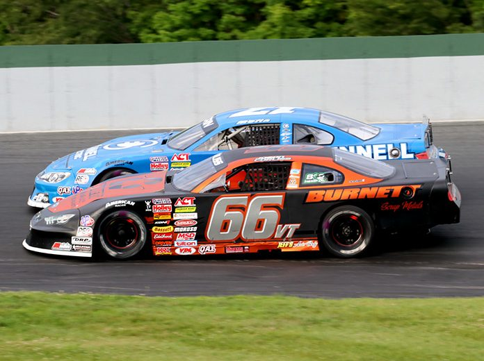 Jason Corliss (66) is gunning for an unprecedented third straight victory in the Vermont Milk Bowl. (Alan Ward Photo)