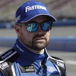 Ricky Stenhouse Jr., shown here in March, spoke for the first time Friday about his departure from Roush Fenway Racing. (HHP/Harold Hinson Photo)