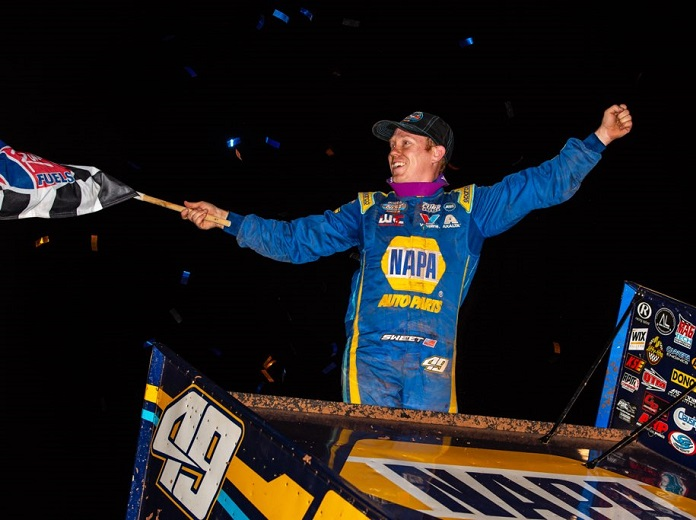 Sweet Honored As Top 410 Sprint Car Driver