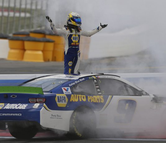 Chase Elliott conquered Sunday's Bank of America ROVAL 400 at Charlotte Motor Speedway. (HHP/Garry Eller Photo)