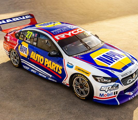 James Hinchcliffe and Alexander Rossi will share the No. 27 NAPA Auto Parts Holden Commodore during the Bathurst 1000.
