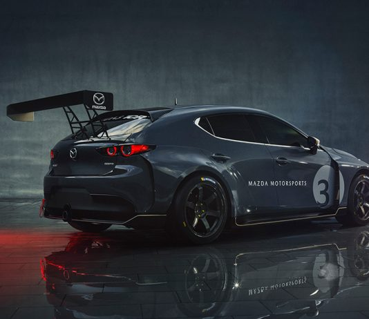 Mazda will return to the IMSA Michelin Pilot Challenge in 2020 with the new Mazda3 TCR race car.