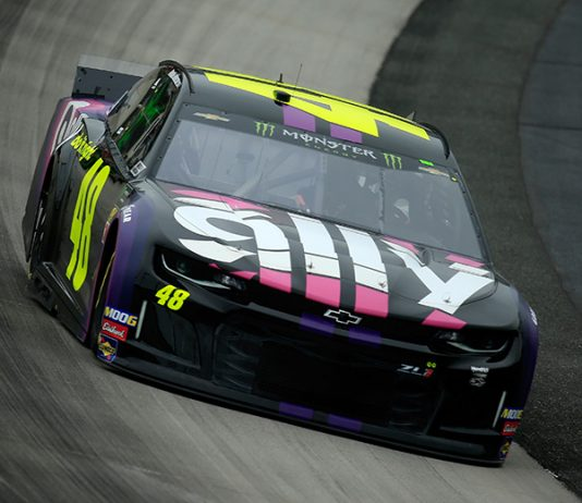 Ally Financial will remain as sponsor of the No. 48 Hendrick Motorsports Chevrolet through 2023. (NASCAR Photo)