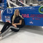 Double D Express Towing & Transport will support Natalie Decker this weekend at Talladega Superspeedway.