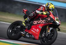 Alvaro Bautista won Saturday's World Superbike event in Argentina. (Ducati Photo)