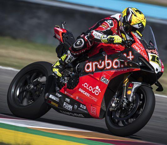Alvaro Bautista won Saturday's World Superbike event in Argentina. (Ducati Photo)