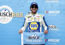 Elliott Leads Hendrick