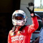 Sebastian Vettel will start from the pole during Sunday's Japanese Grand Prix. (Ferrari Photo)