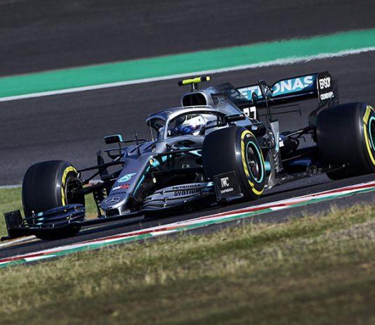 Valtteri Bottas was dominant en route to victory in Sunday's Japanese Grand Prix. (Steve Etherington Photo)