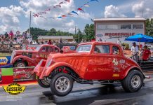 Southeast Gassers nostalgia drag racing will invade Carolina Dragway Saturday, October 19th. (SEGA Photo)