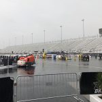 Mother Nature was the only winner on Sunday at zMAX Dragway. (Adam Fenwick Photo)