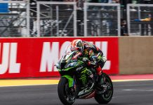 Jonathan Rea won Sunday's World Superbike race in Argentina. (WorldSBK Photo)