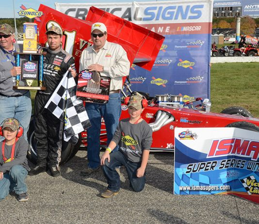 Jon McKennedy captured the ISMA finale Sunday at Thompson Speedway Motorsports Park. (Jim Feeney Photo)