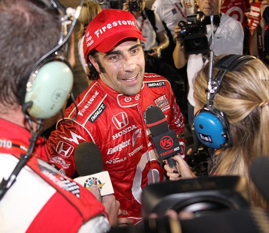 Dario Franchitti claimed the 2009 IndyCar Series championship with a win at Homestead-Miami Speedway. (IndyCar Photo)