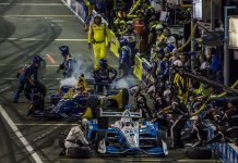 IndyCar Pit Stops (Brad Plant Photo)