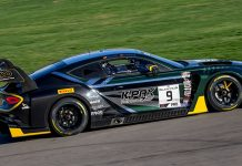 K-PAX Racing swept Blancpain GT World Challenge America qualifying Friday in Las Vegas.