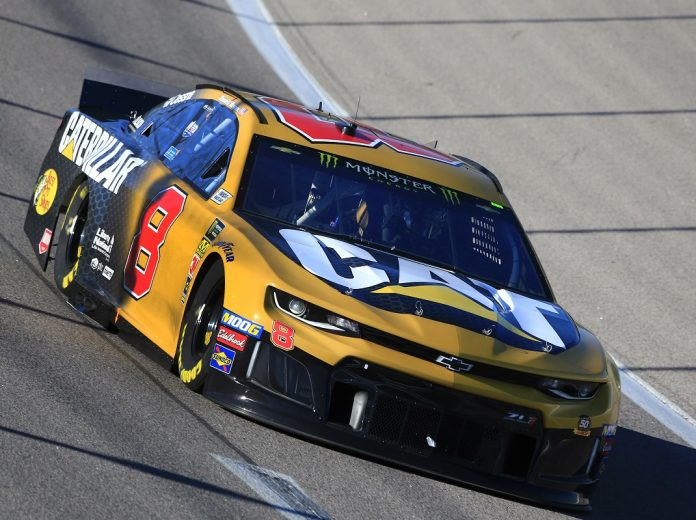 Hemric Takes First Cup