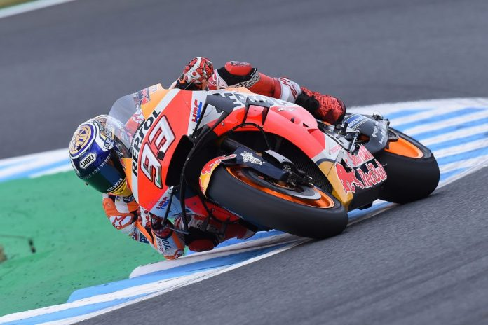 Marc Marquez continued his domination of the MotoGP tour in Japan. (Honda Photo)