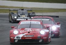 The Coca-Cola Porsche livery was a big hit during the Petit Le Mans. (IMSA Photo)
