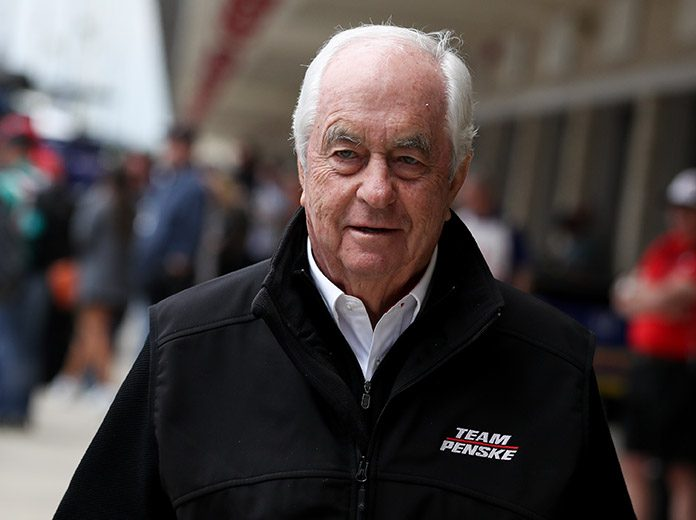 Roger Penske received the Presidential Medal of Freedom from President Donald Trump on Thursday. (IndyCar Photo)