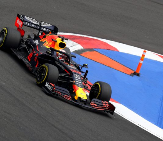 Max Verstappen raced to the pole position for the Mexican Grand Prix. (Red Bull Photo)