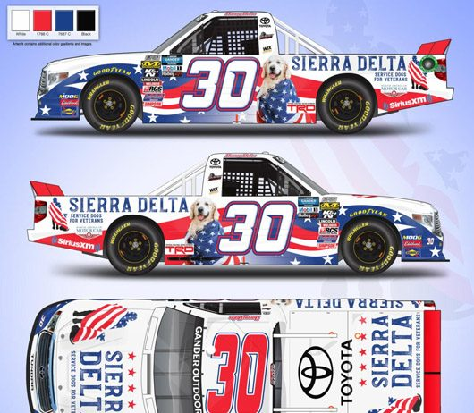 Sierra Delta is backing Danny Bohn and On Point Motorsports in the final two NASCAR Gander Outdoors Truck Series races of the season.