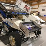 Aaron Reutzel will drive for Caleb Martin during the Texas Sprint Car Nationals this week.