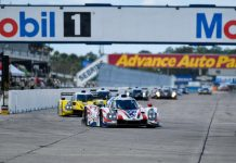 Entries are pouring in for the second running of the IMSA SportsCar Encore.