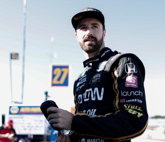 James Hinchcliffe will depart Arrow McLaren SP. (IndyCar Photo)