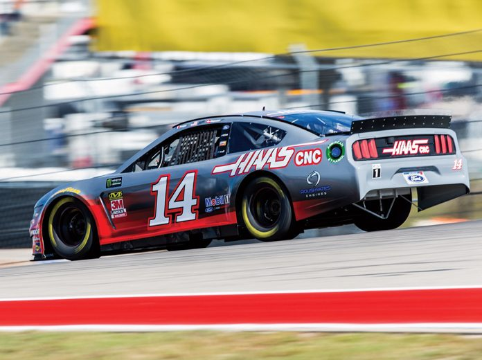 Tony Stewart wheeled a stock car for the first time since 2016 on Thursday at Circuit of the Americas. (Peter Fox/Getty Images Photo)