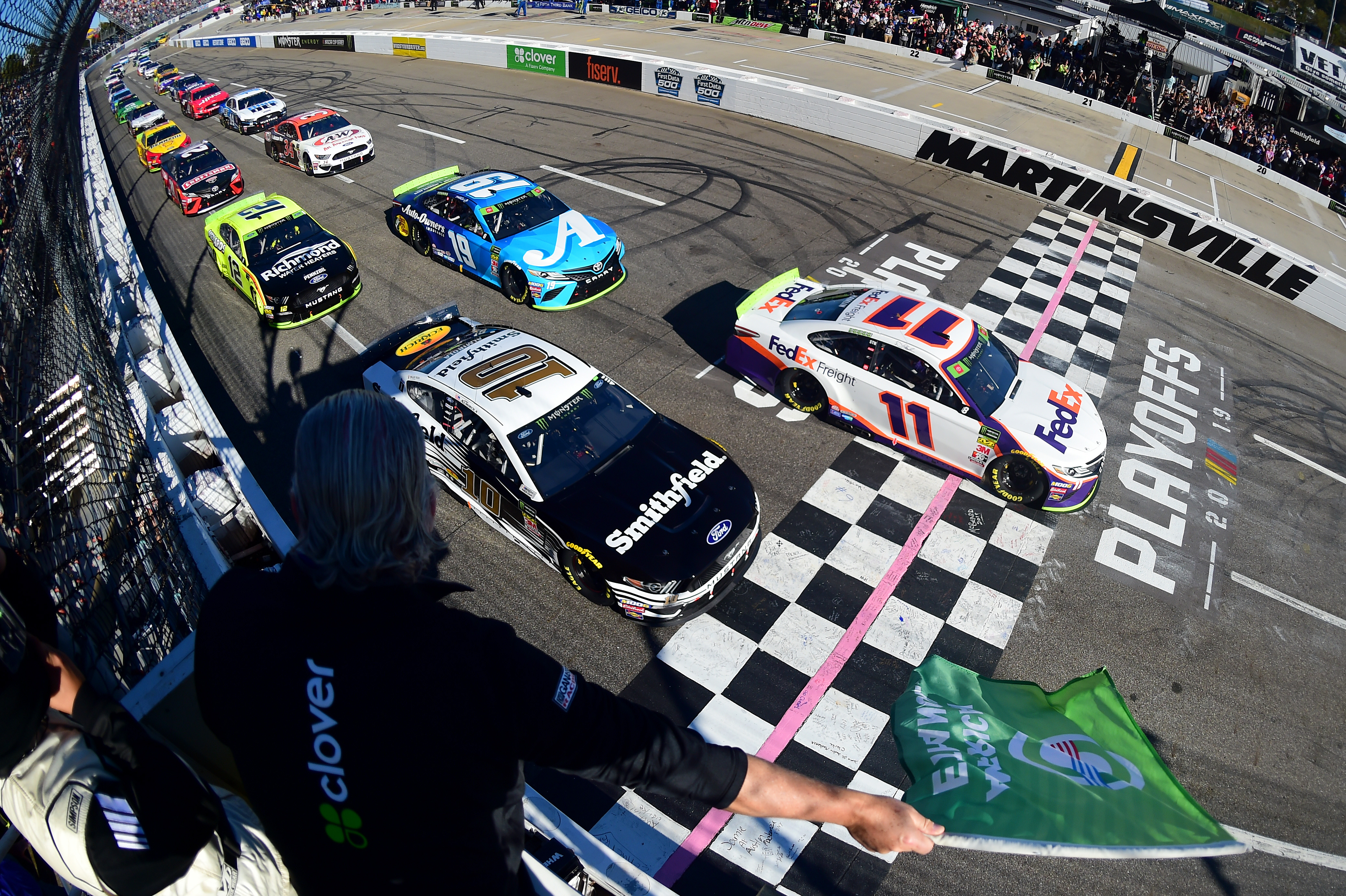 NASCAR's Planned Return To Racing At Risk