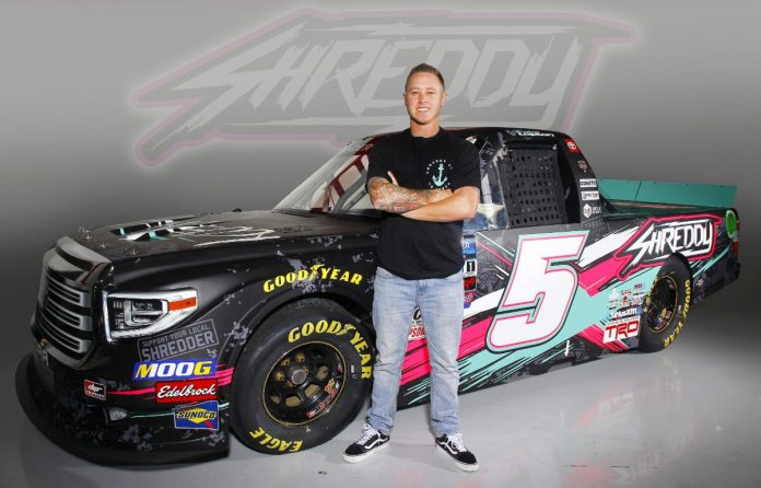 Shreddy Lyfe will back Dylan Lupton in the final two NASCAR Gander Outdoors Truck Series races of the season.