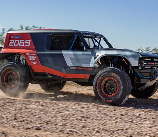 Ford's Bronco R race prototype will debut in the SCORE Baja 1,000 later this month. (Ford Photo)
