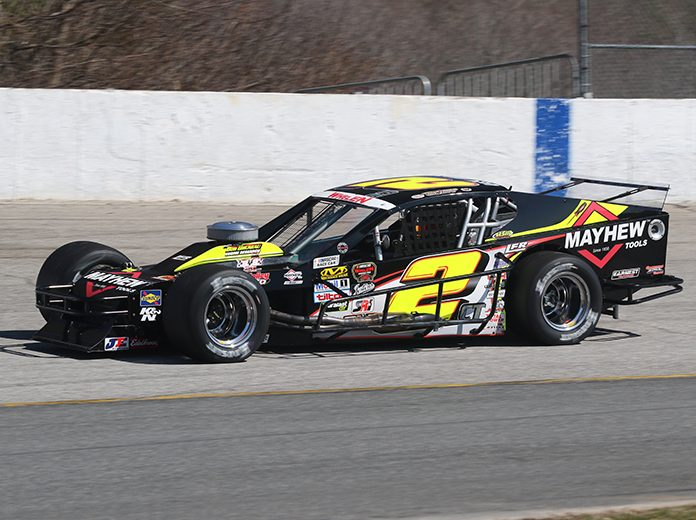 Mike Smeriglio III, the owner of Doug Coby's car in the NASCAR Whelen Modified Tour, has retired. (Dick Ayers Photo)