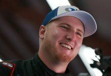 Austin Hill will return to Hattori Racing Enterprises in 2020. (NASCAR Photo)