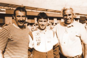 (From left) Brent, Bud and Howard Kaeding. (NSSN Archives Photo)