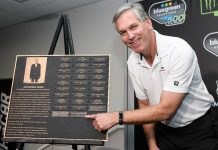 Dan Zacharias was named the winner of the Jim Chapman Award on Friday afternoon at ISM Raceway.