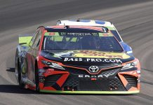 Martin Truex Jr. has led Toyota with seven victories this season. (HHP/Harold Hinson Photo)