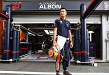 Alexander Albon will be back with the Red Bull Racing Formula One team in 2020. (Red Bull Photo)
