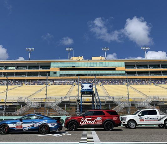 A trio of Ford vehicles will pace the fields during Ford Championship Weekend at Homestead-Miami Speedway.
