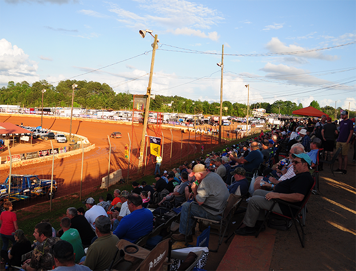 Cherokee Speedway will host the inaugural Xtreme DIRTcar Series event on Nov. 24. (Kyle Armstrong Photo)