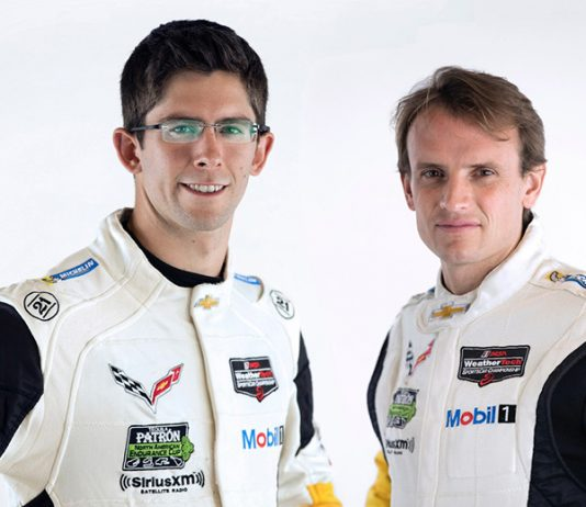 Jordan Taylor (left) will join Corvette Racing on a full-time basis, and partner with Antonio Garcia (right) in the No. 3 Mobil 1/SiriusXM Corvette C8.R next season.