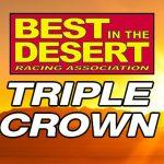 Best in the Desert Triple Crown Logo